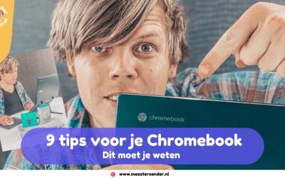 Dit moet je als eerste doen als je een Chromebook koopt – 9 Tips voor studenten en leerkrachten