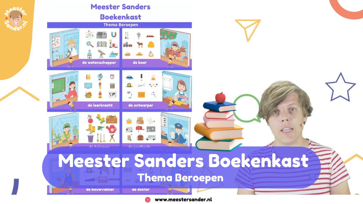 Meester Sanders Boekenkast – Thema Beroepen