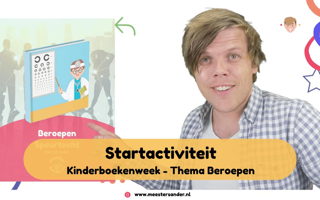 Startactiviteit Kinderboekenweek – Thema Beroepen