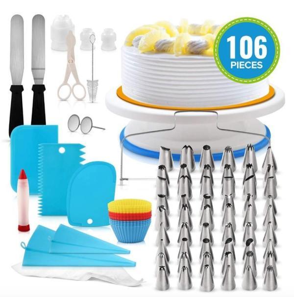 106件烘焙工具套裝