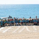 Volunteers to clean the beach of La Mar Bella