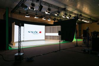 El CCIB inaugura un plató virtual de 420 m2 para desarrollar eventos virtuales e híbridos