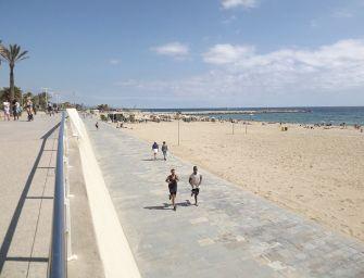 Bandera blava a les platges de Barcelona