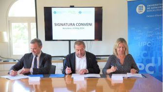 The CCIB and the UPC sign two collaboration agreements