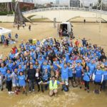 637 Kg de residus recollits de les platges de Barcelona
