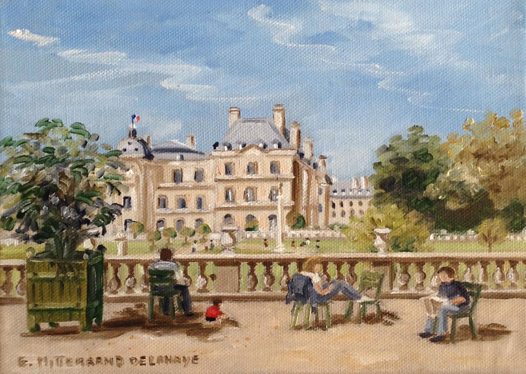 Le jardin du luxembourg meet a french artist for Aller au jardin du luxembourg