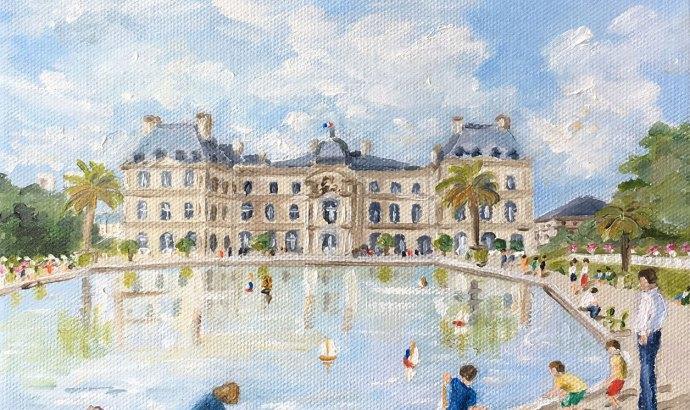 Le bassin du Luxembourg
