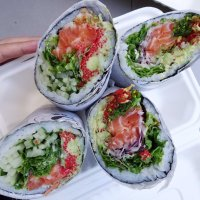 Supersize Sushi Burrito @ Rolltation