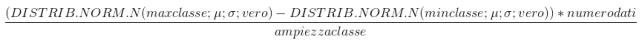formula generale
