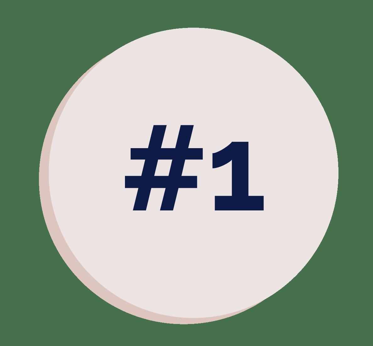 numbered item