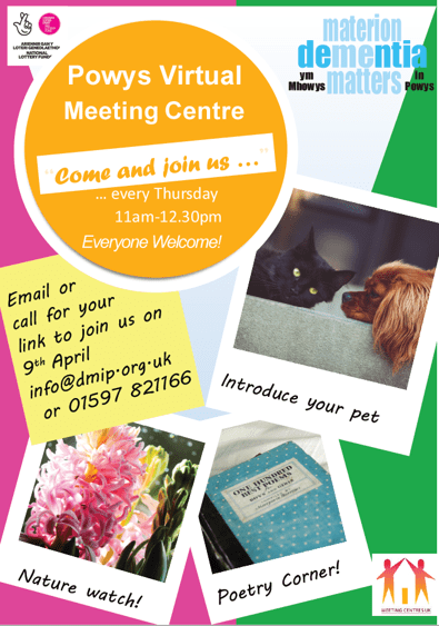 Leaflet for the Virtual Meeting Centre