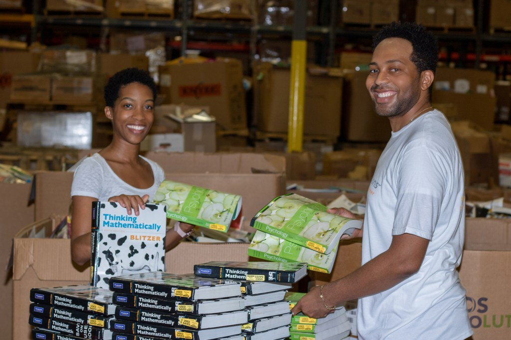 Books for Africa book sorting