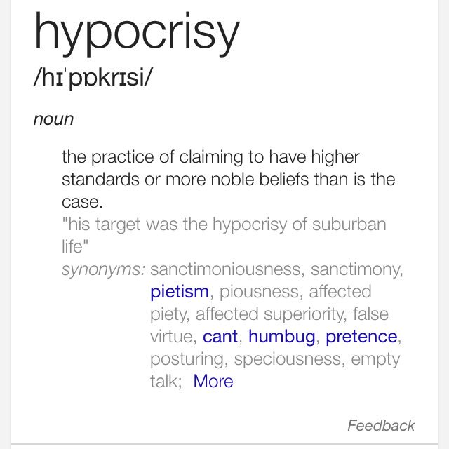 Micah Title Hypocrisy