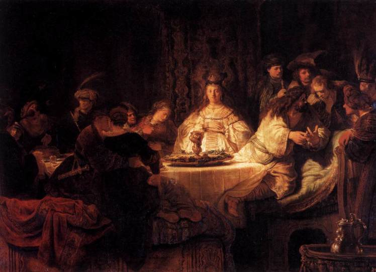 Samson's Wedding Rembrandt