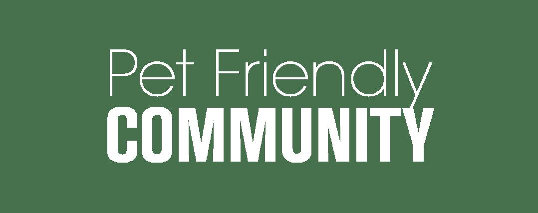 Pet-Friendly Community