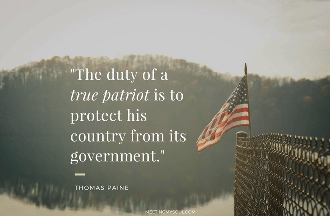 what does it mean to be a patriot? quote