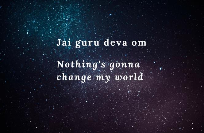 across the universe lyrics