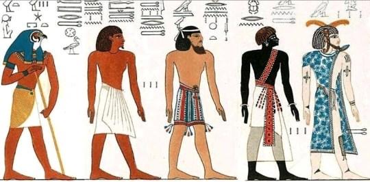 Egyptians not black or white