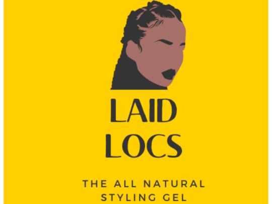 Laid Locs Hair Gel Logo: courtesy Maxine Harrison
