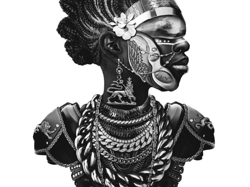 Yung Yemi Afro Futurism Portraits