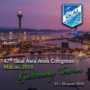 47th Skål Asia Area Congress: Macau 2018