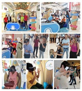 #ExperienceSeychelles booth activation at Dubai Mall resounding success