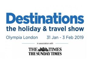 Destinations: The Holiday & Travel Show 2019 returns to London and Manchester