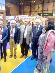 Sierra Leone Tourism went all out at FITUR to attract Spanish visitors