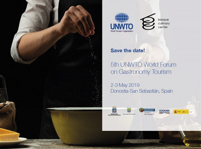 Save the date: 5th UNWTO World Forum on Gastronomy Tourism