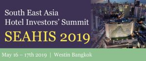 South East Asia Hotel Investors' Summit  returns to Westin Grande Sukhumvit, Bangkok