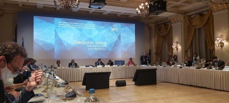 UNWTO European Commission meeting includes WTN Board member Aleksandra Gardasevic-Slavuljica representing Montenegro
