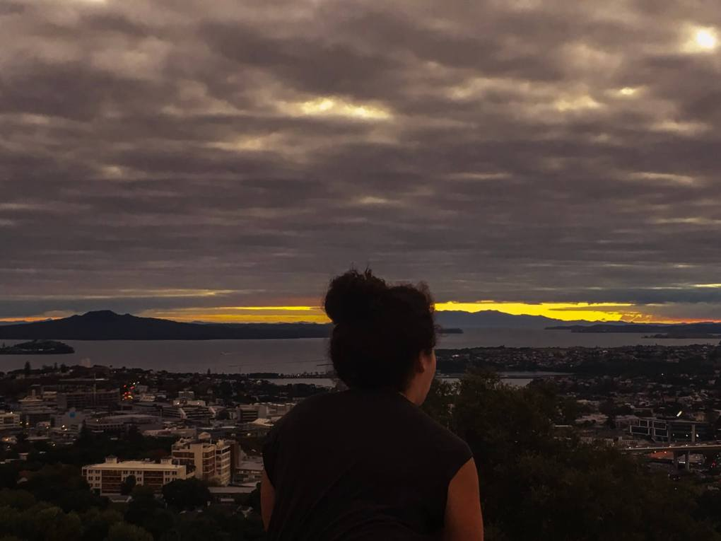 Dawn at Mount Eden, Auckland