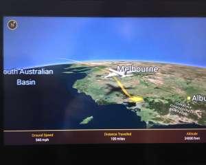 Long haul flight in economy