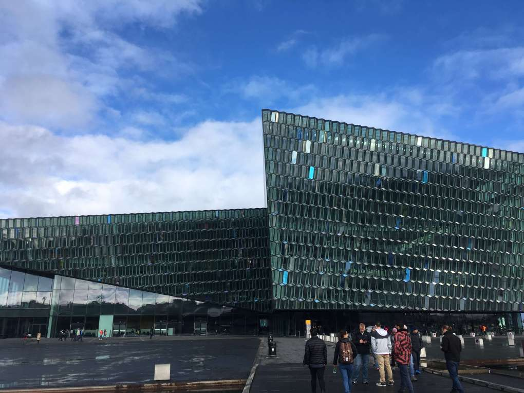 Harpa Music Hall, Reykjavik - Meet me at the pyramid stage