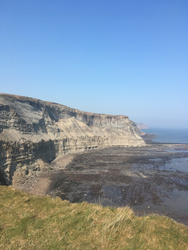 Coastline following the Cleveland Way