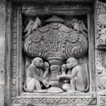 Prambanan carvings