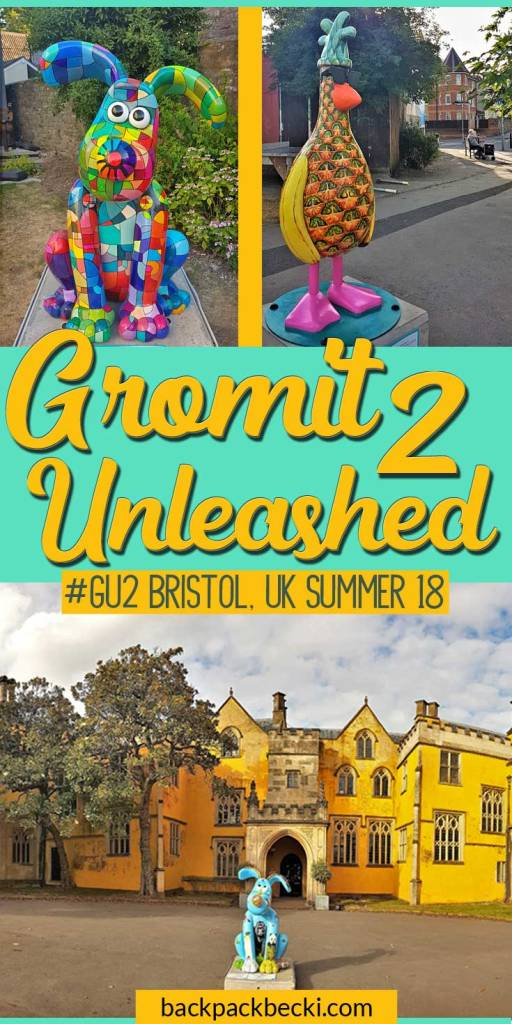 Gromit Unleashed 2 trail, the characters from Aardman animations are scattered around Bristol in a new walking tour for summer 2018. Gromit Unleashed #GU2 #AardmanAnimations #WallaceandGromit #Bristol #CityofBristol