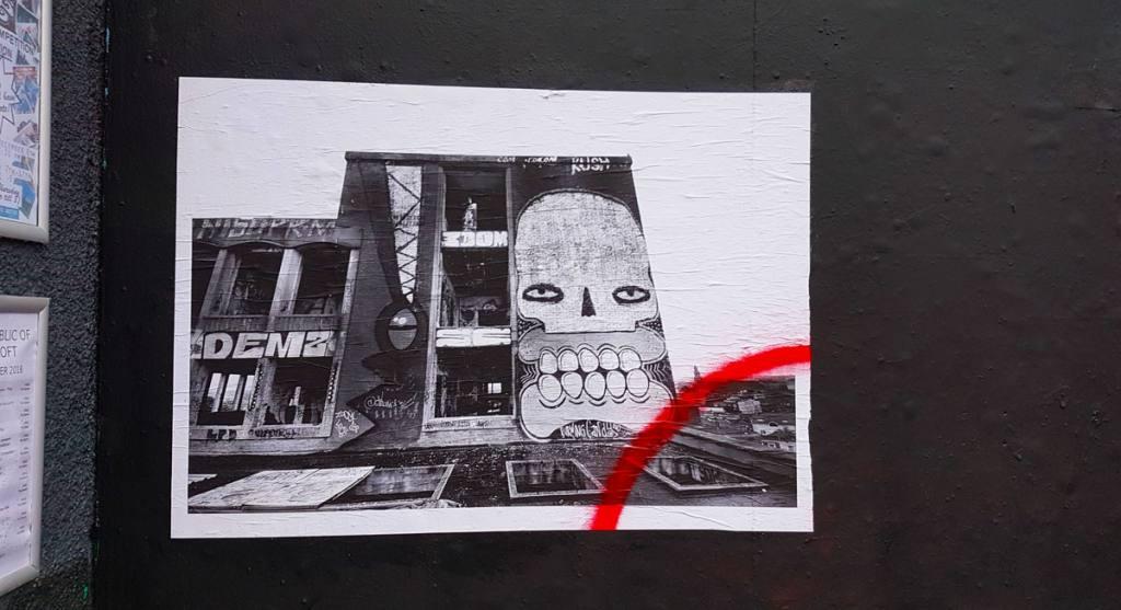 Stokes Croft Bristol, Welcomes to Bristol's Cultural Quarter. Street Art and Soulful Stories. Featuring the Artwork of Banksy, Lucas Antix, Toof, Rowdy - #Grafitti #StokesCroft #StokesCroftAndMontpellier #StreetArt #UrbanArt #BristolCity #VisitBristol #CityBreaks #PRSC #PeroplesRepublicOfStokesCroft #BackpackingEurope #BackpackBecki