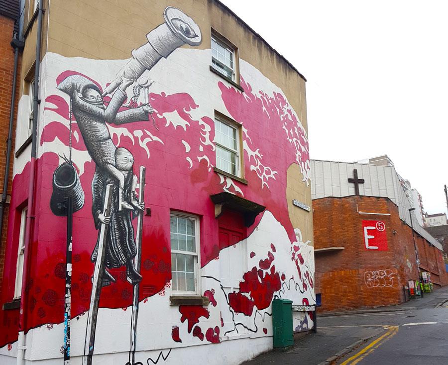 Stokes Croft Bristol - Street Art and Soulful Stories 1