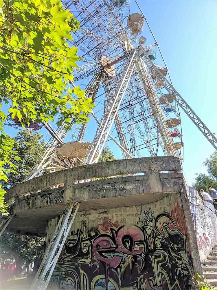 Visiting an Abandoned Amusement Park in Elektrenai, Lithuania 1