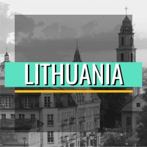 Lithuania Country Button