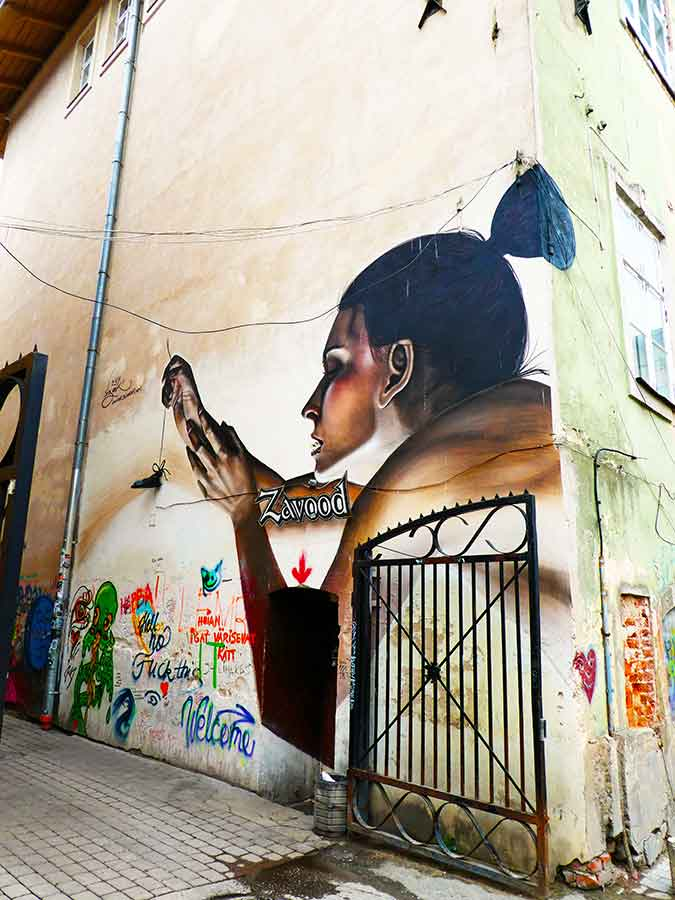 Estonia's Street Art Capital – Urban Art & The Tartu Graffiti Scene + Street Art Map with locations of this ever changing urban gallery. Tartu Graffiti - Estonias second largest city plays host to the nations street art hub. #graffiti #streetart #estonia #baltics #urbanart