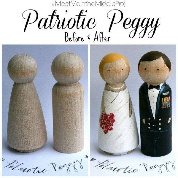 With just a little paint, Heidi turns wooden pegs into families. This reminds me of how God is a great Creator. He created us and our families.