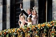 ... the official balcony scene at Dam Square. It was a national 'goosebump moment', as we could all see the tears in the eyes of our royal family. Then I moved on to ...