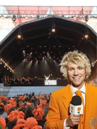 Like Dutch DJ Armin van Buuren, world's no. 1.