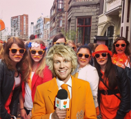 Everybody joined the orange madness on the streets the celebrate the last birthday party of our Queen.