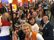 IBTM World - group presentation at the Holland stand