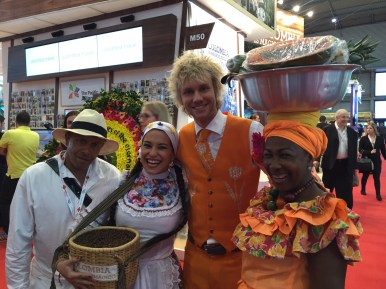 IBTM World - the perfect Orange match with Colombia