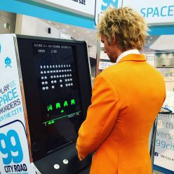 Mr Holland vs Space Invaders at The Meetings Show UK 2016
