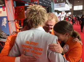 Farewell Team Holland